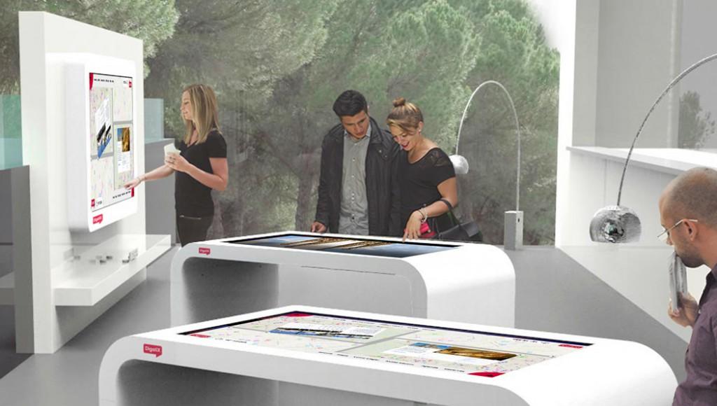 La oficina de turismo del futuro en b travel la mesa for Oficina de turismo barcelona